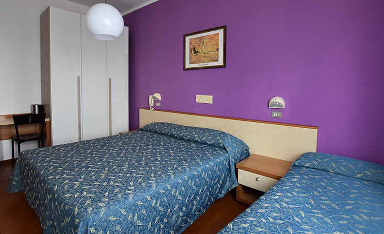Hotel a Rimini vicino al mare family rooms